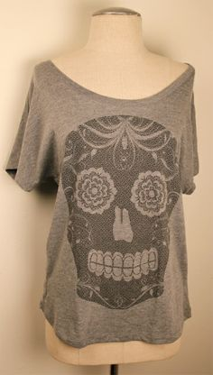 Beach Skull Dolman at Cowgirl Blondie's http://www.dumbblondeboutique.com