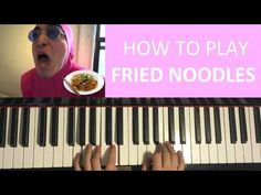 HOW TO PLAY - FILTHY FRANK (Pink Guy) - FRIED NOODLES (Piano Tutorial Le...