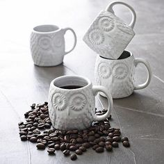 Owl Espresso Mug