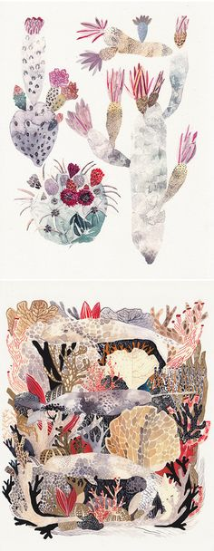 watercolors by michelle morin