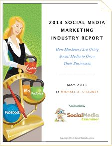 2013 Social Media Marketing Industry Report: learn from more than 3000 marketers on how to focus your social media activities and what the rewards are.