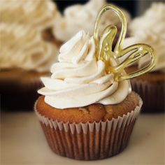 The very essence of delicious: Salted Carmel Cupcakes.