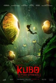 Kubo and the Two Strings (2016) 27x40 Movie Poster