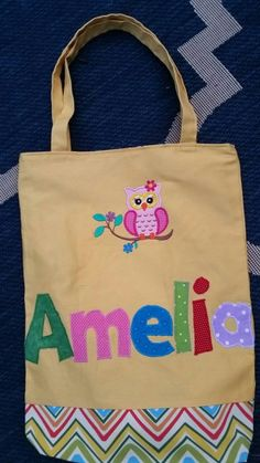 extra large personalized kids tote bag boy tote bag canvas tote