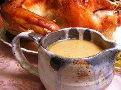 "Easy Turkey Gravy: ""I made this for Thanksgiving and it was so good and incredibly quick and easy. I got lots of compliments on it being the best gravy people had ever tasted!"" -Preachers Wife #UltimateThanksgiving"