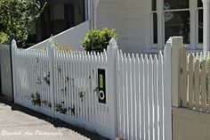 Picket fence bottom board, stagger stop Albert Park, Front Fence, Queenslander, Radiators, The Great Outdoors, Entrance, Garden Design, Outdoor Decor, Outdoor Ideas