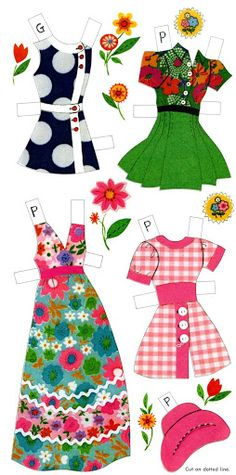 Paper Dolls~Prints & Polka Dots - Bonnie Jones - Picasa Web Albums