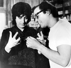 Anna Magnani and director Sidney Lumet break away from the drama of The Fugitive Kind