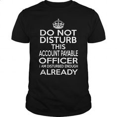 ACCOUNT PAYABLE OFFICER - DISTURB T4 - hoodie for teens #shirts #kids t shirts