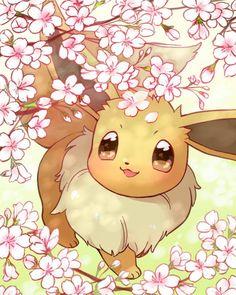 Pixel Pokemon, Pokemon Luna, Pokemon Fan Art, Pokemon Fusion, Eevee Cute, Cute Pikachu, Pikachu Art, Cute Animal Drawings, Pokemon Tattoo