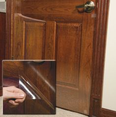 Diy Tip Of The Day Protecting Doors From Dog Scratches