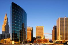 hartford skyline photos | Hartford skyline sunrise, Hartford, CT