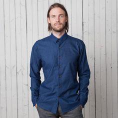 The Neuwirth Long Sleeve | Soft Royal Blue – 18 Waits