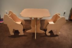 Great table and chair set for children.