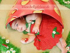 Strawberry baby under belly bowl