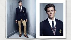 wp01 800x455 Wouter Peelen Models Preppy Styles for H&M