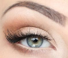 """Love this website...You can put in eye color, or colors you want to use, difficulty level...etc, and it brings up MANY different looks you can do on yourself. I put in these colors and this is the """"look"""" I chose to do.  SO AWESOME! (Plus it helps me break my daily routine of wearing brown everday - lol)"""