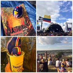 #britduck | Glastonbury! Wellies, tick, pack-a-mac, tick, tent  sleeping bag, tick, and not forgetting the tickets of course!