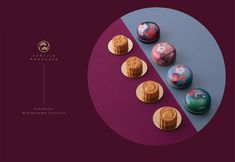 Vanilla Mooncake on Packaging of the World - Creative Package Design Gallery Food Graphic Design, Food Poster Design, Food Design, Graphic Design Illustration, Chinese Moon Festival, Chinese Moon Cake, Japanese Menu, Cake Packaging, Tea Party Theme