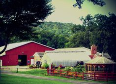 The Glade Run Adventures area to support therapeutic animal and horticultural programming #Farm #Garden