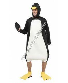Disfraz de Pingüino para Adultos. #Disfraces #Carnaval http://casadeldisfraz.com/