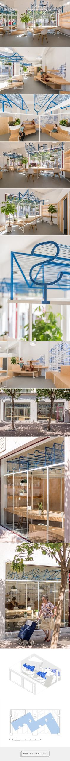 A Modern Tourist Office in Spain Featuring Cool Graphic Typography - Design Milk - created via http://pinthemall.net