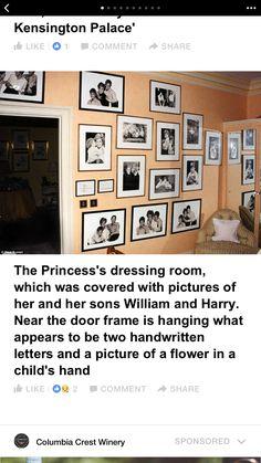 Diana's dressing room