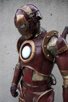 Oh my.... Steampunk Iron Man
