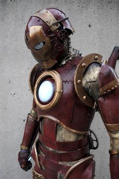 Steampunk Iron Man suit. Tony Stark's great-great grandfather could have battled Dr. Loveless in the wild, wild West!