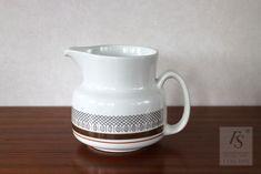 Gefle SPETS pitcher 1 Ltr - FourSeasons.fi Sweden, Scandinavian, Ceramics, Tableware, Pattern, Ceramica, Pottery, Dinnerware, Tablewares