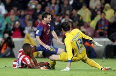 Messi es la clave del Barça ante el Atlético