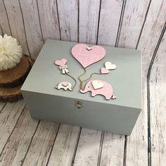 Large Keepsake Memory Box Present Storage Box Luxury PLAIN BLACK GIFT BOX