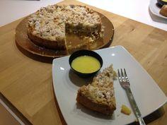 Una torta dal sapore inglese: il crumble di mele e mandorle. http://blog.shopty.com/it/ricette/una-torta-dal-sapore-inglese-il-crumble-di-mele-e-mandorle.php