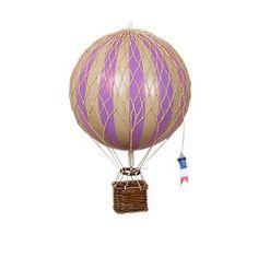 Luftballon, lavendel - 18 cm