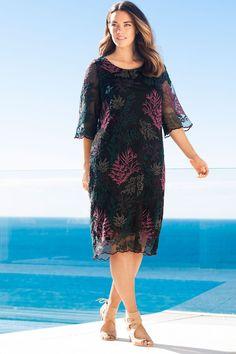 Sara Embroidered Dress Online | Shop EziBuy