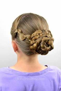 Easy Braided Style for Summer from BabesInHairland.com #braids #hair #summer #hairstyle