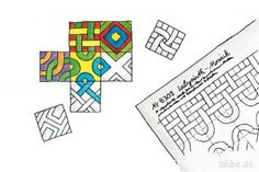 Labyrinth-Mosaik