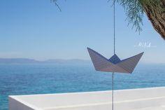 Βάπτιση στην Αίγινα Origami Boat, Blog, Blogging