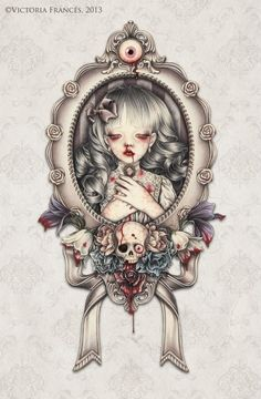 Would make a killer tattoo. Victoria Frances