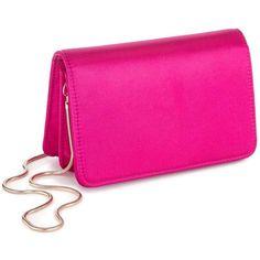 Miss Selfridge Mini Cross Body Bag ($35) ❤ liked on Polyvore featuring bags, handbags, shoulder bags, pink, cross-body handbag, mini crossbody purse, special occasion handbags, pink handbags and mini crossbody handbags