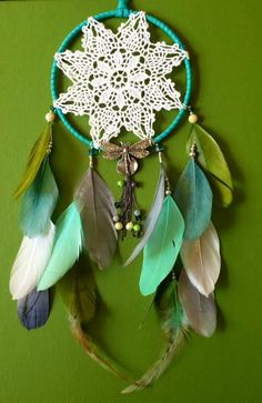 Hey, I found this really awesome Etsy listing at http://www.etsy.com/listing/171349543/dream-catcher-dragonfly-doily-boho