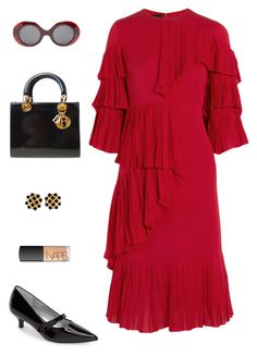 """""""Gucci vibes."""" by mechi13 on Polyvore featuring moda, Gucci, Trotters, Christian Dior, The Row, Chanel y NARS Cosmetics"""
