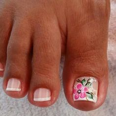 Feet Nail Design, New Nail Art Design, Purple Nail Designs, Toe Nail Designs, Pedicure Nail Art, Toe Nail Art, Cute Pedicure Designs, Cute Toe Nails, Magic Nails