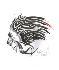 Sweet Lions Tattoo Example
