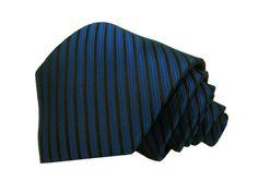 Gravata Azul Royal Trabalhada
