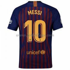44a35e3acabc8b Fotbollströjor Barcelona 2018-19 Lionel Messi 10 Hemmatröja