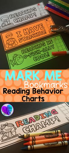 Mark Me Bookmarks are a great way to motivate students during their reading time. The positive reinforcement given by these INK SAVING bookmarks will motivate and encourage good reading behaviors in all students. Minimum preparation, yet maximum results!