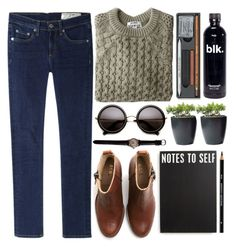 """Nature."" by michellecoolio ❤ liked on Polyvore featuring rag & bone/JEAN, Acne Studios and Primitives By Kathy"