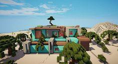 Awesome Minecraft House Design Ideas #3 - Modern Mansion Minecraft ...
