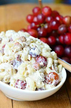 Chicken Deluxe Salad | from willcookforsmiles.com